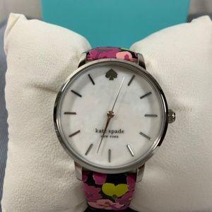 Kate Spade Metro Pink Floral Watch KSW1512